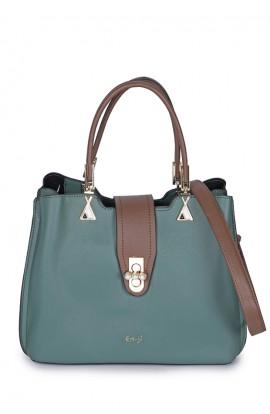 En-ji Hinori Handbag - Green
