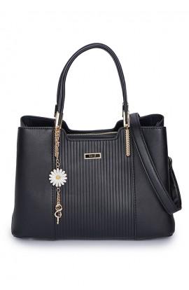 En-ji Dakyung Handbag - Black