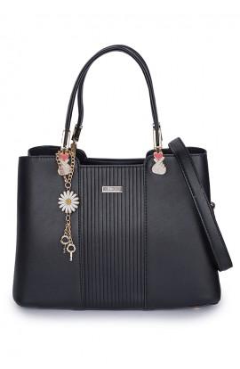 En-ji Mariko Handbag - Black