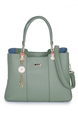 En-ji Mariko Handbag - Mint Green