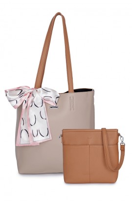 En-ji Minsoo Handbag- Khaki