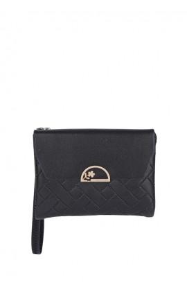En-ji Minnie Wallet - Black