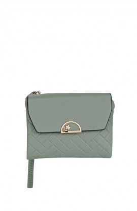 En-ji Minnie Wallet - Green