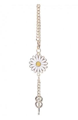En-Ji Daisy Bag Charm - Gold