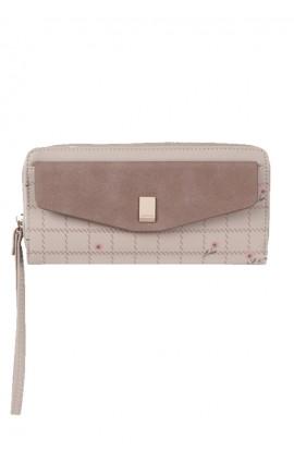 En-ji Lilac Wallet - Khaki