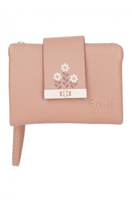 En-ji Kokumi Wallet - Apricot